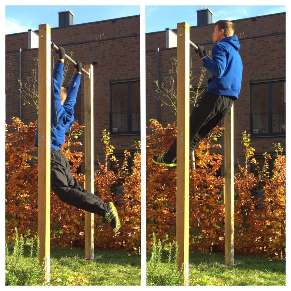Home gym selber bauen  Klimmzugstange für den Garten (DIY) - Activate-the-Beast